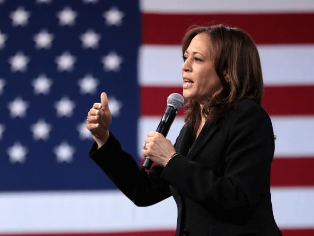 Die kalifornische Vize-Kandidatin, Kamala Harris, gilt als starke Rednerin.