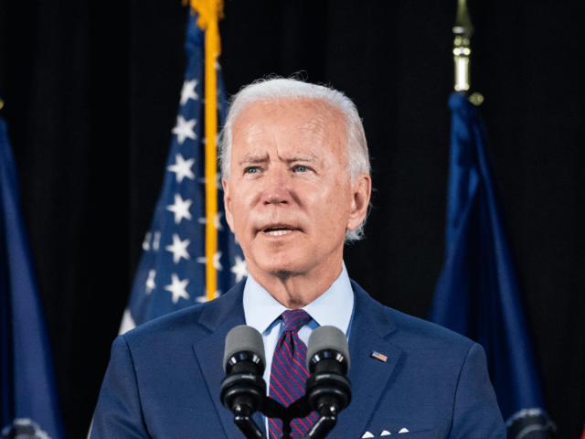 Joe Biden akzeptiert die Nominierung der Demokraten als Präsidentschaftskandidat.