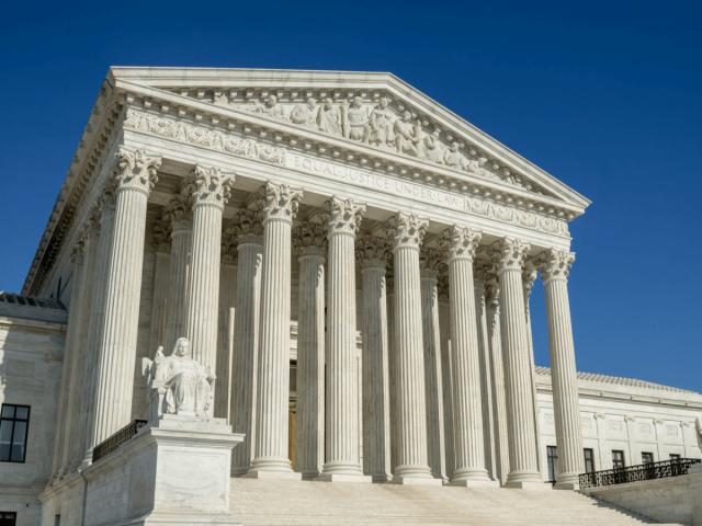 Supreme Court der Vereinigten Staaten in Washington, D.C.
