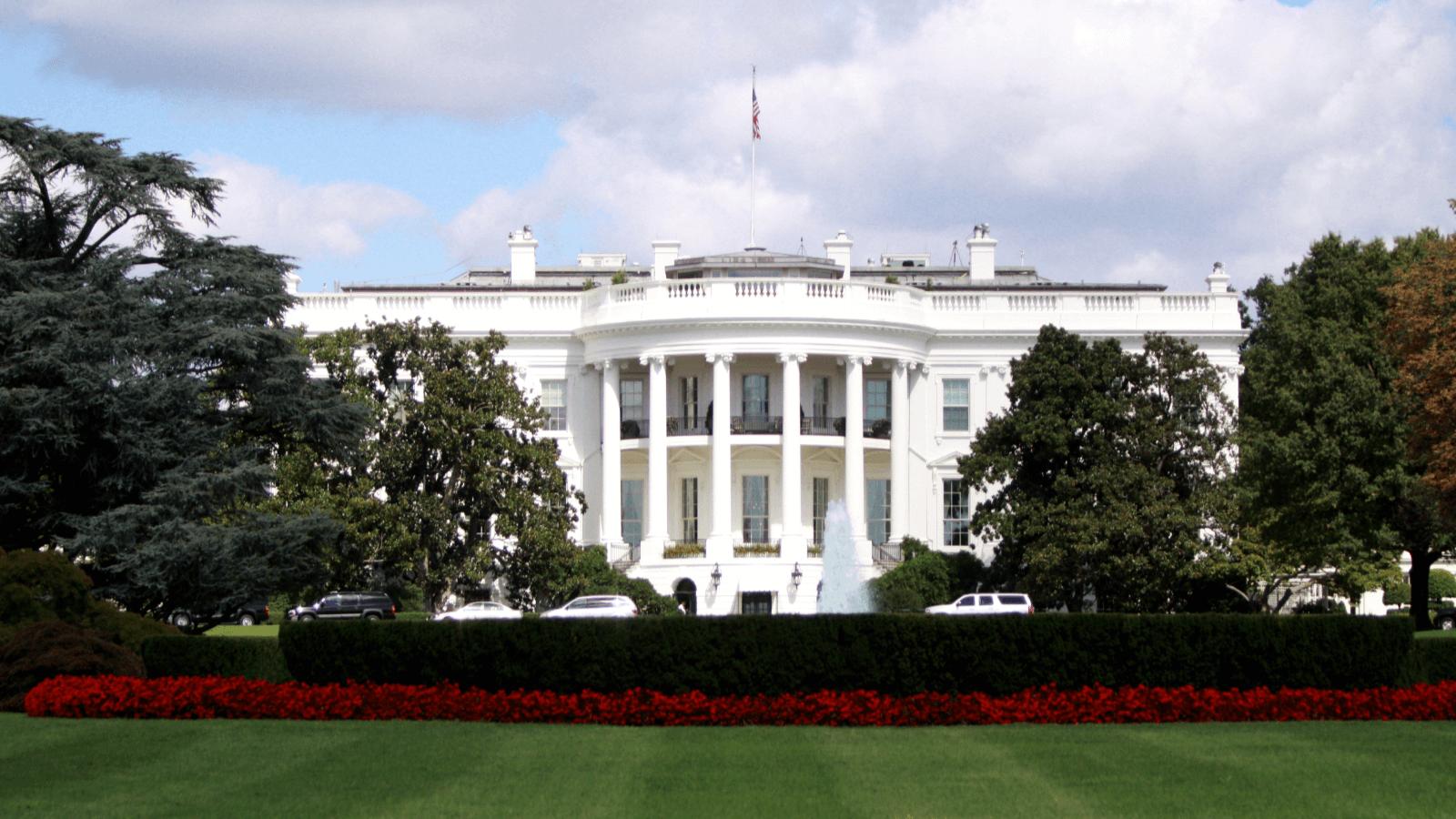 Das Weiße Haus in Washington, D.C.