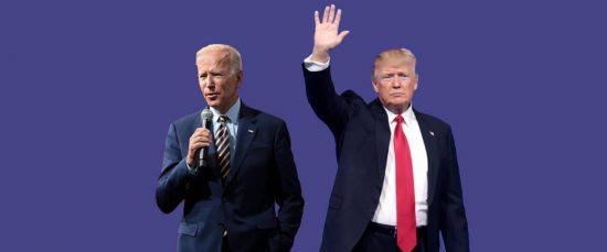 Die beiden Präsidentschaftskandidaten Joe Biden und Donald Trump.