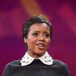 Mellody Hobson hält eine TED-Talk in Vancouver, Kanada.