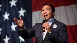 Andrew Yang bewirbt sich um das Amt des Bürgermeisters von New York City.