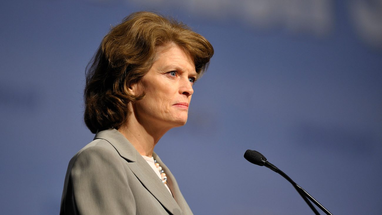 Lisa Murkowski hält eine Rede beim Energy Innovation Summit 2011.