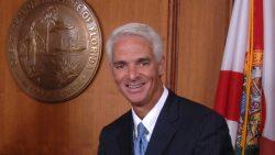 Charlie Crist in seinem damaligen Gouverneursbüro.