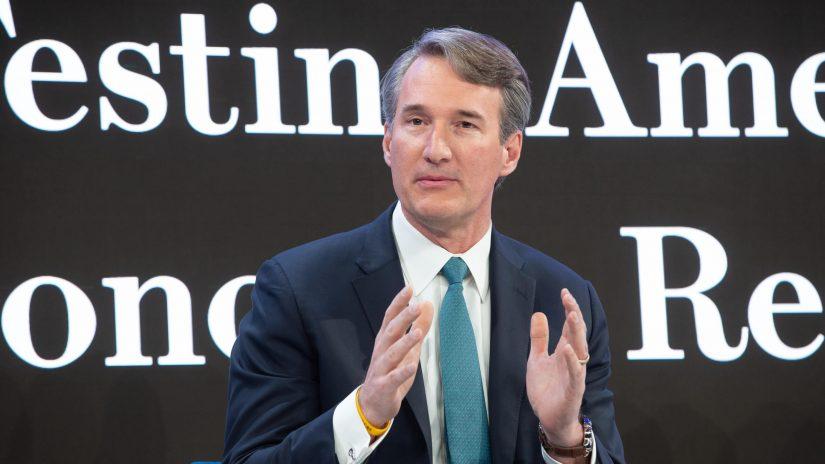 Glenn Youngkin beim Weltwirtschaftsforum 2020 in Davos.