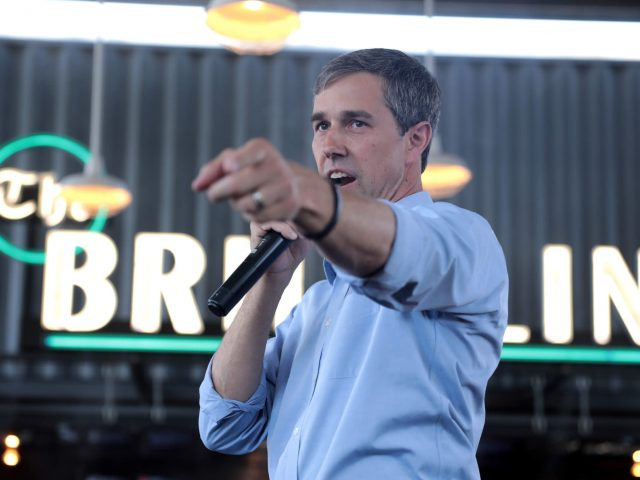 Beto O'Rourke bei einer Wahlkampfveranstaltung 2019 in Phoenix, Arizona.