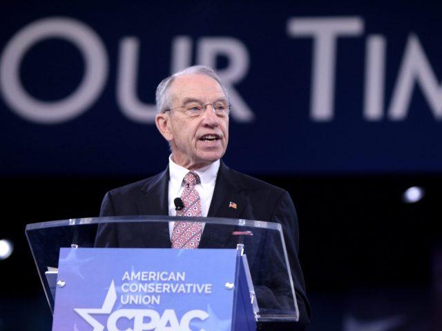 US-Senator Chuck Grassley bei der konservativen CPAC-Konferenz 2016 in Maryland.